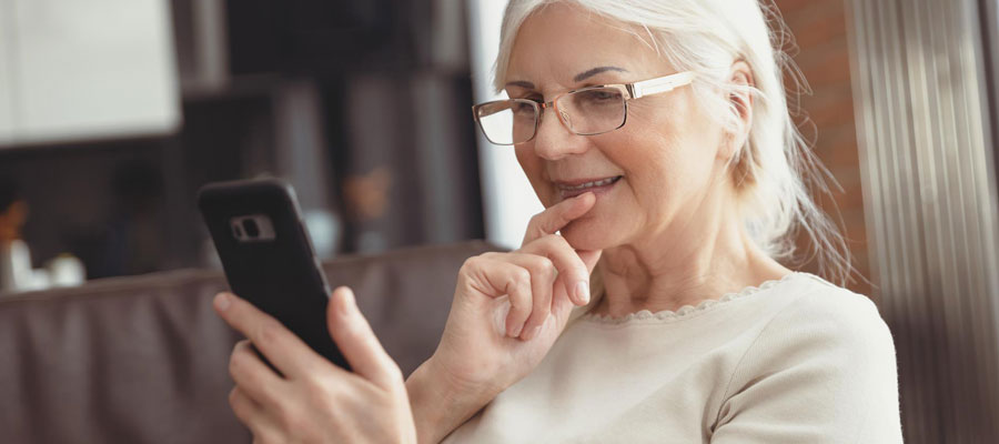 Téléphones portables pour seniors
